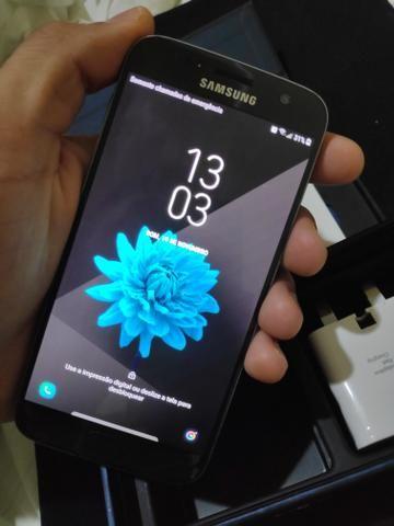 Smartphone Samsung Galaxy s7 flat tela amoled impressão digital - Foto 3