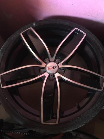 Vendo Rodao 20 com dois pneu novos e dois meia vida - Foto 6