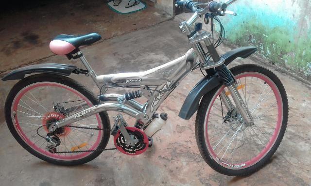 Bicicleta com freio adisco - Foto 3
