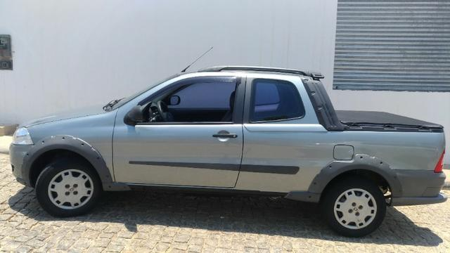 Fiat Strada Working 1.4 Flex - Cabine Dupla - Completa Ano Modelo 2012 - Foto 14