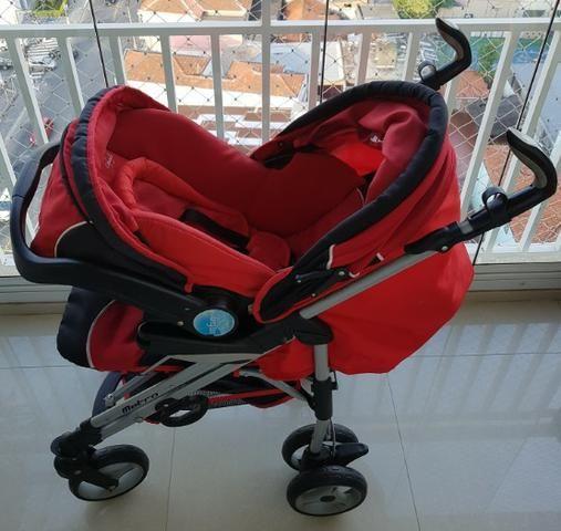 Carrinho + bebê conforto + base isofix Infanti