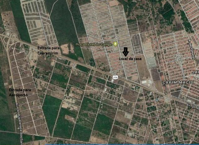 Linda casa no Flores do Campo II com 78m2. Documentação grátis. Apenas R$ 139.000,00 - Foto 18