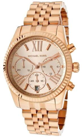 Relógio Michael Kors Lexington Mk-5569 - Full Gold - Bijouterias ... f02eca98e8