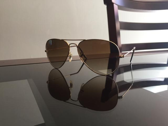 ac3503ef0f76d ORIGINAL) óculos Ray Ban - modelo Aviador RB3025 - Bijouterias ...