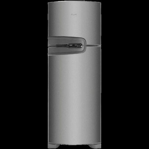 5589ca173 Geladeira   Refrigerador Consul Frost Free Duplex CRM38 340 Litros - Inox