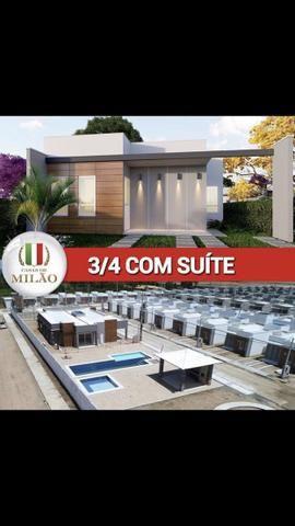 Ultimas unidade Casas de Milão 3-quartos c/Suíte;100%laje, Aceita FGTS, no bairro SIM - Foto 3
