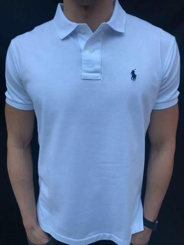 Camisa Branca Camisa Lauren Ralph Polo uKJ5TlF1c3