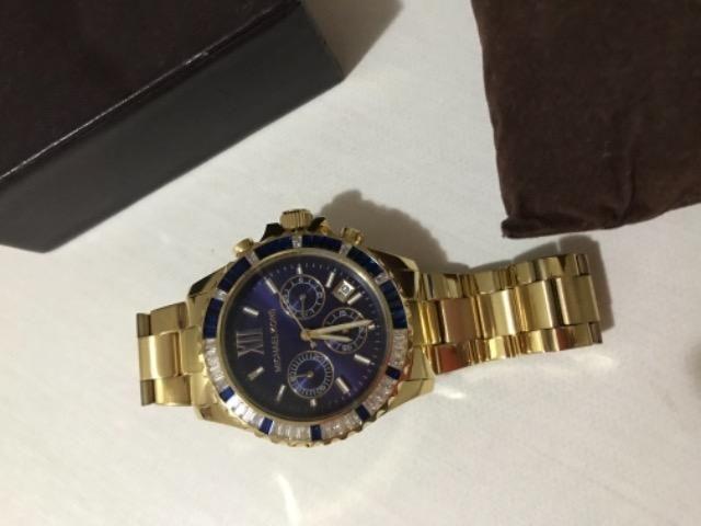 4f96d4c81 Vendo relógio michael kors original r$ 750,00 - Bijouterias ...