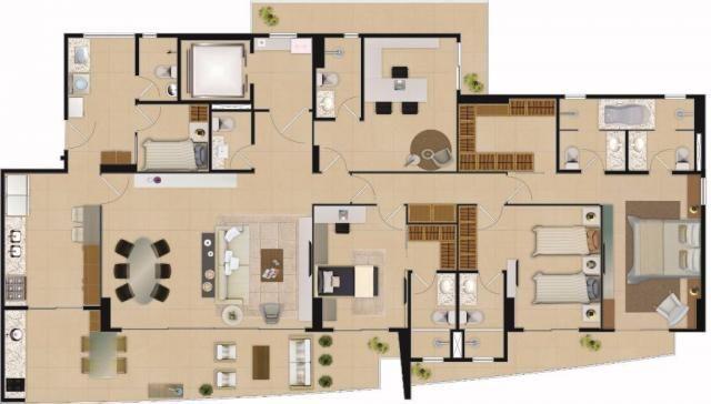 Apartamento residencial à venda com 04 suítes, aldeota, fortaleza. - Foto 18