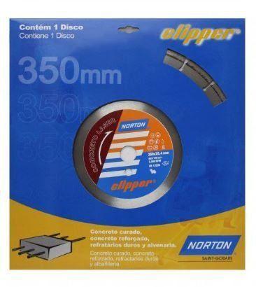 Disco De Corte Norton 350mm P/ Concreto - Foto 2