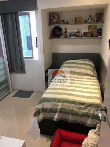 Apartamento na Beira Mar com 4 dormitórios à venda, 146 m² por R$ 620.000 - Casa Caiada -  - Foto 14