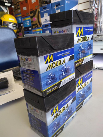 Bateria Moura fan titan factor Xre300 entrega todo Rio  - Foto 2