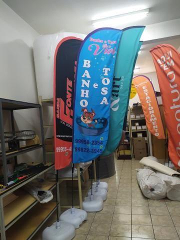 Flag Banner ou Wind Banner - Foto 2