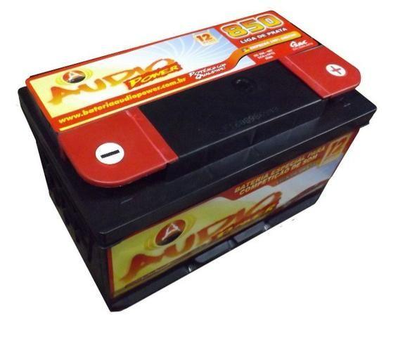 Promoção Bateria Audio Power 95ah/850ah Pico Som Automotivo ou Arranque - Foto 4