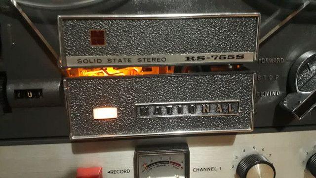 Gravador National RS755S   - Foto 2