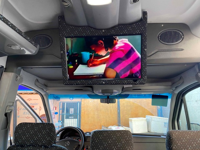 Mercedes Benz Sprinter Teto Alto 21 Lugares com 3 mil rodados - Foto 7