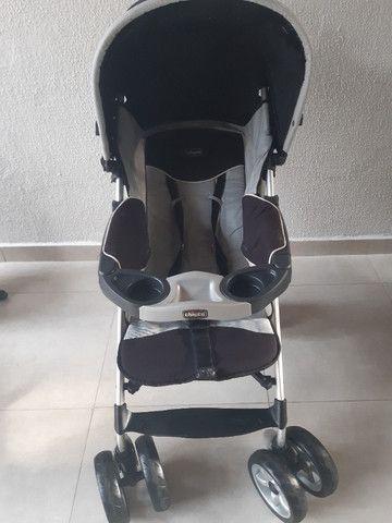 Vendo Carrinho e Bebê Conforto Chicco Trevi - Foto 4