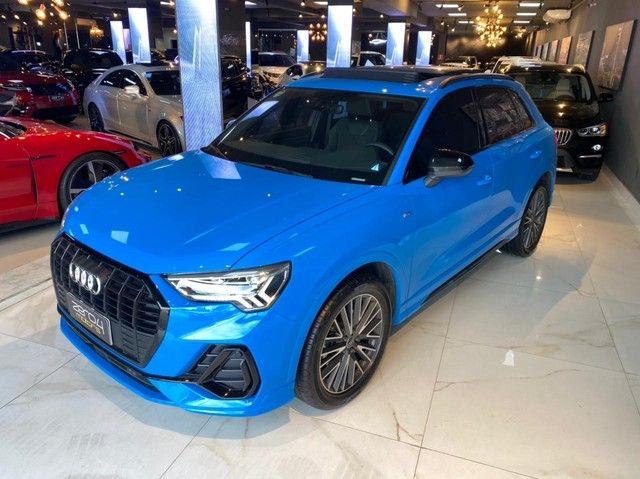 Audi Q3 2021, 1.4 35 TFSI BLACK S LINE S TRONIC, apenas 3.000 km, configuração exclusiva  - Foto 8