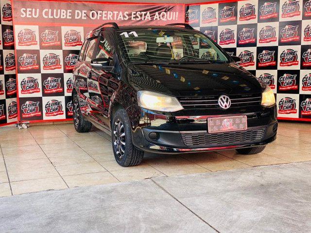 Volkswagen SpaceFox 1.6 8V (Flex)  *Banco de Couro* Excelente Oportunidade!!!   - Foto 2