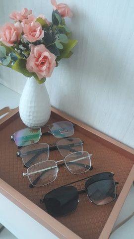 Óculos graduados e sol  - Foto 2