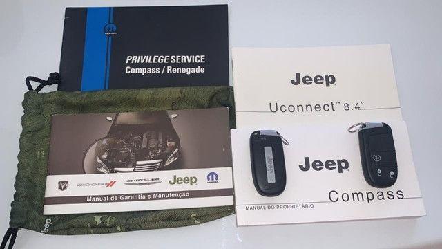 Jeep Compass 2.0 Limited 4x4 Diesel Automático - Foto 19