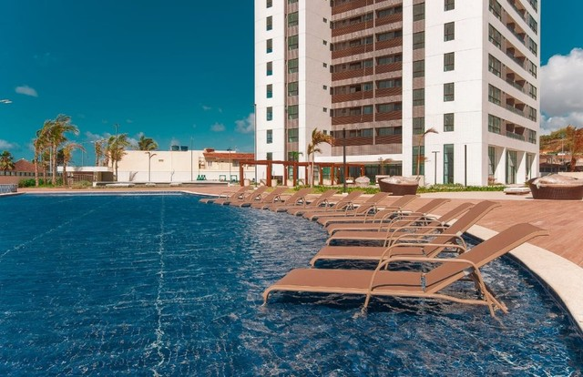 Apartamento beira mar a venda com 4 suítes em Maceió Evolution Sea Parque. Mega área de la - Foto 3