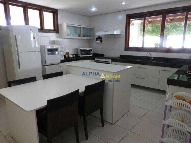 Casa com 3 dormitórios à venda, 429 m² por R$ 3.200.000,00 - Alphaville Fortaleza - Eusébi - Foto 9
