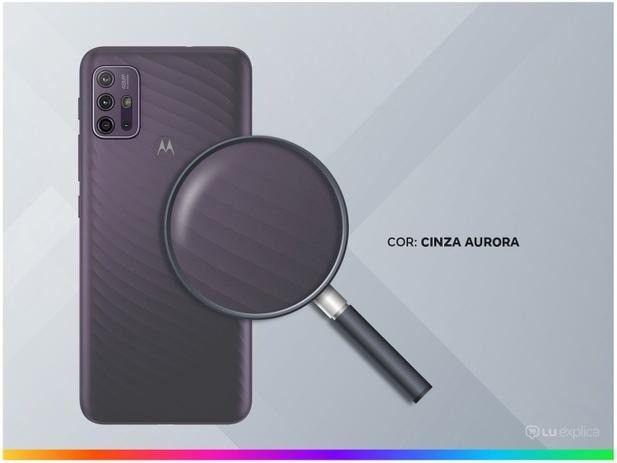 Smartphone Motorola Moto G10 64GB Cinza Aurora  - Foto 2