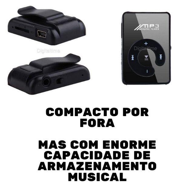 Clip USB Digital Mp3 Music Player Support 8GB - Foto 2