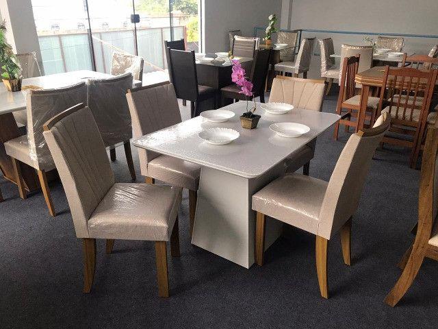 Mesa de Jantar 4 Cadeiras Celebrare medida do tampo 120X80 - Foto 3