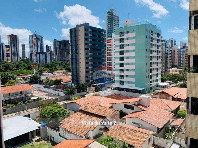 Aluga ótimo apto, 2 suítes, posição sul, por R$ 2.400 Cabo Branco ? João Pessoa/PB - Foto 13