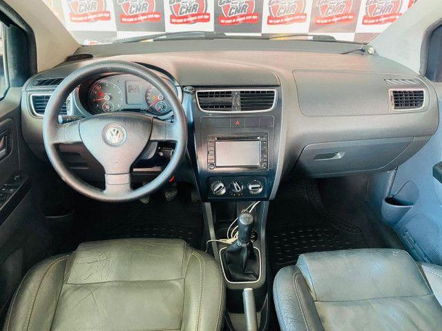 Volkswagen SpaceFox 1.6 8V (Flex)  *Banco de Couro* Excelente Oportunidade!!!   - Foto 10