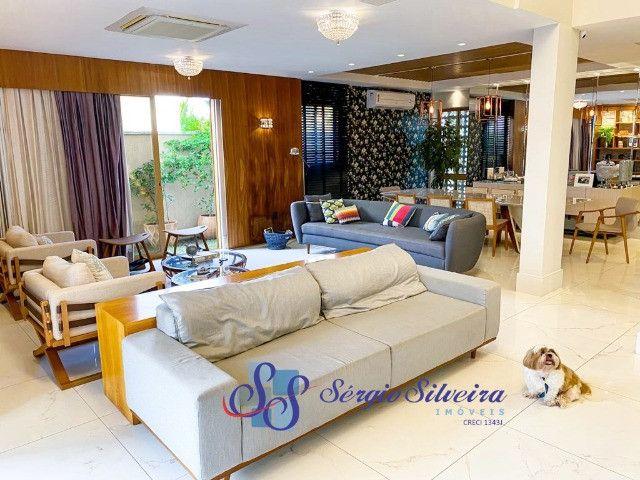 Casa no Alphaville Fortaleza mobiliada e climatizada, com piscina privativa, alto padrão - Foto 7