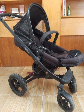Carrinho de bebe Norton 3 em 1 moises, Mobi e carrinho - Foto 3