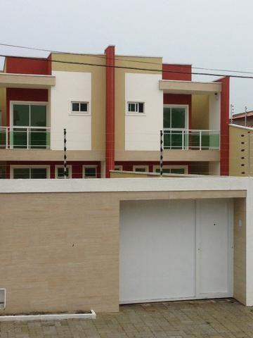 CA0048 - Linda Casa Duplex no centro do Eusébio - Mansões Albuquerque