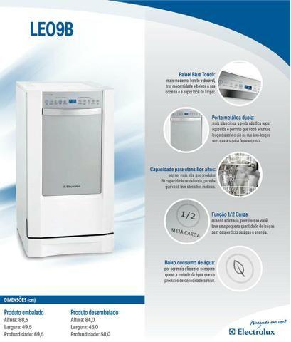 Lava-Louças Eletrolux LE09B/LE09X - USADO
