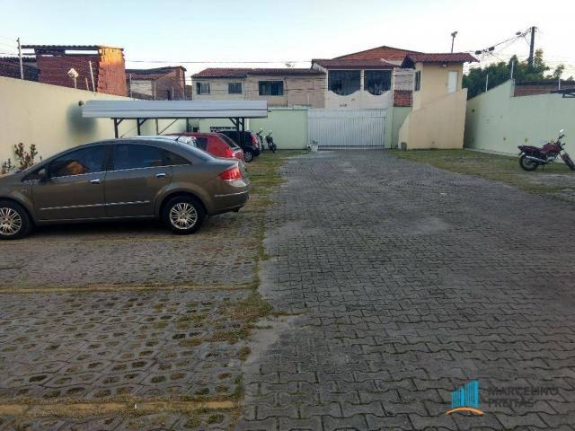 Apartamento 02 quartos sendo 01 suíte + wc. social, R$ 139mil. Mondubim, Fortaleza-Ce. - Foto 5