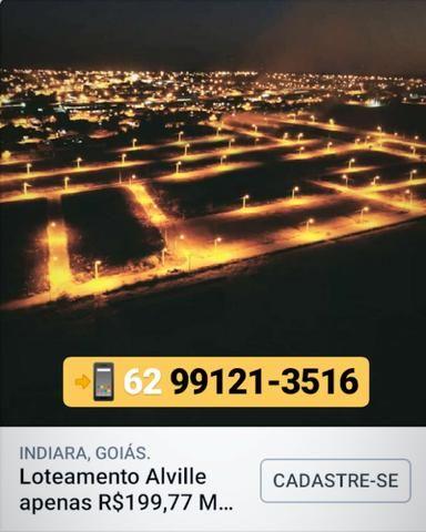 Lotes em Indiara - Construa HOJE! Parcelas 199 - Foto 7