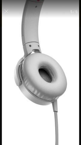 Fone Sony com fio Headphone Extra Bass MDR-XB450 - Foto 5