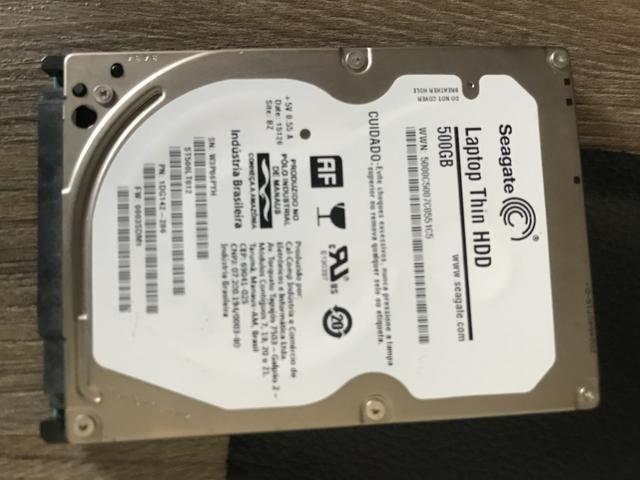 HD de 500 Gb com Case - Foto 2