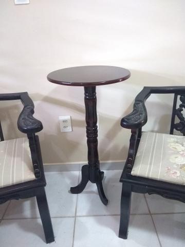 Cadeiras e Mesinha Vintage / Antigas - Foto 5