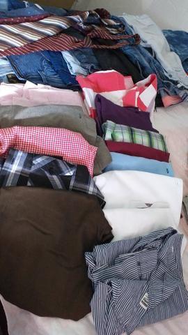 8 calças jeans masculina 15 camisas