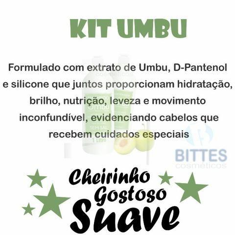 Hidratação Reconstrução Capilar Kit Natubelly Cauterização Umbu shampoo Condicionado - Foto 3