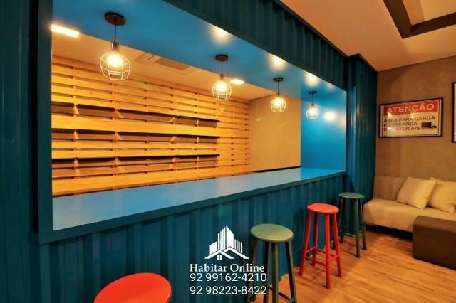 Atmosphere apartamento no Adrianópolis alto padrão na promoção - Foto 2