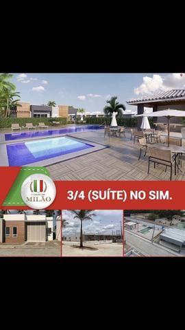 Ultimas unidade Casas de Milão 3-quartos c/Suíte;100%laje, Aceita FGTS, no bairro SIM - Foto 5