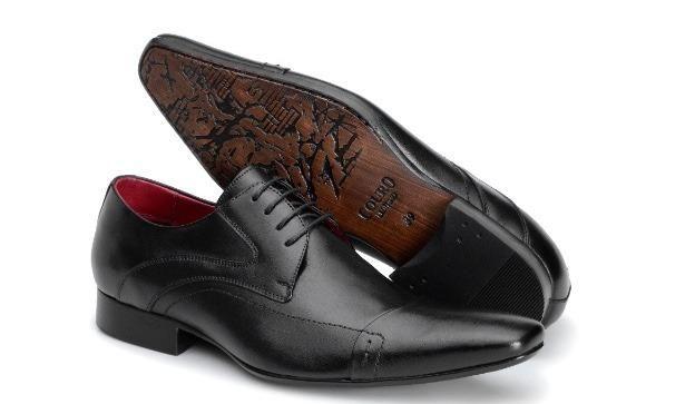 8357e96326 Sapato Social de amarrar bico fino preto - Roupas e calçados ...