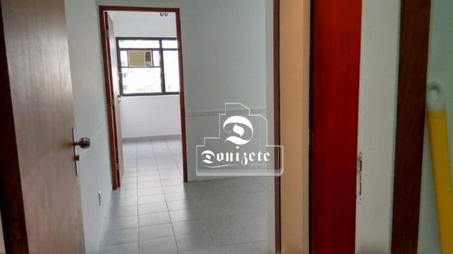 Sala para alugar, 30 m² por r$ 1.800/mês - santo antônio - são caetano do sul/sp - Foto 3