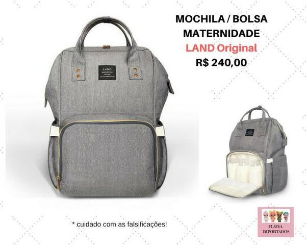 eb5d87681 Mochila / Bolsa Maternidade Land Original - Artigos infantis ...