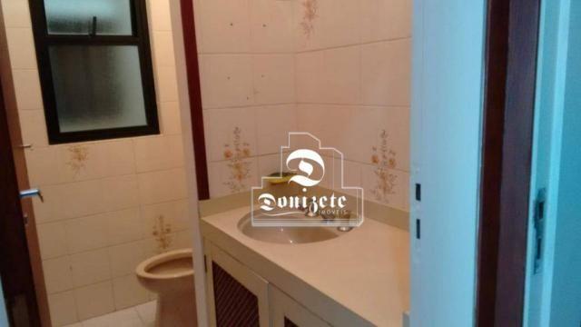 Sala para alugar, 30 m² por r$ 1.800/mês - santo antônio - são caetano do sul/sp - Foto 4