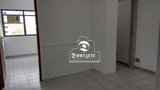 Sala para alugar, 30 m² por r$ 1.800/mês - santo antônio - são caetano do sul/sp